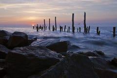 Delaware-Schacht-Sonnenaufgang Lizenzfreie Stockfotografie