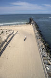 Delaware state park surfer Stock Photo