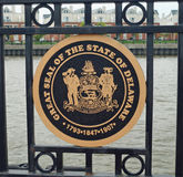 Delaware State Seal Stock Photography