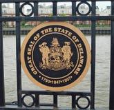 Delaware statskyddsremsa Arkivbild