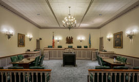 Delaware Supreme Court Chamber Royalty Free Stock Images