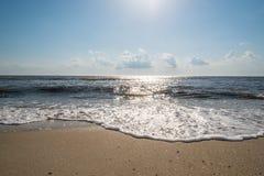 Delaware zatoki brzeg Zdjęcia Stock