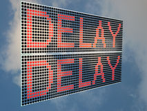 Delay Royalty Free Stock Photography
