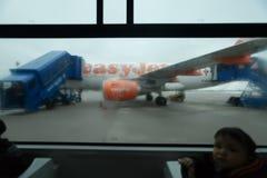 Delayed flight Royalty Free Stock Image