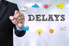 DELAYS Stock Image