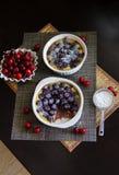 Delcious Cherry pie Royalty Free Stock Photos