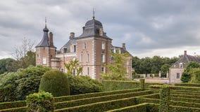 Delden,荷兰- 2016年10月, 07日:城堡Twickel 免版税库存图片