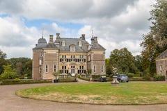 Delden, die Niederlande - Oktober, 07, 2016: Schloss Twickel Stockbilder