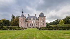 Delden, die Niederlande - Oktober, 07, 2016: Schloss Twickel Stockfotografie