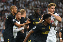 Dele Alli. Football players pictured during the 2016/17 UEFA Champions League Group E game between Tottenham Hotspur and AS Monaco on September 14, 2016 at Royalty Free Stock Image