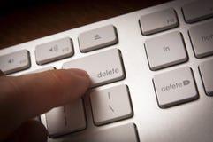 deleatur klucz Fotografia Stock