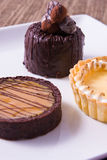 Delectable Desserts Stock Photo