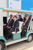 Delegação do governo Fotografia de Stock Royalty Free