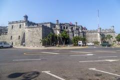 Delegacia na construção histórica, Havana Cuba Fotos de Stock Royalty Free