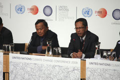 delegacja Indonesia Obrazy Royalty Free