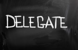 Delegate Concept Royalty Free Stock Photos