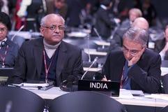 Delegation von Indien Stockbild