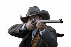 Delegato con il fucile Immagine Stock Libera da Diritti