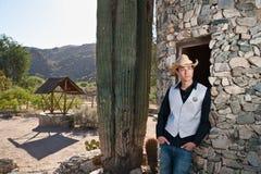 Delegato sceriffo del cowboy Fotografia Stock Libera da Diritti