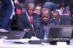 Delegazione del Cameroun Fotografie Stock