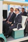 Delegazione di governo Immagini Stock