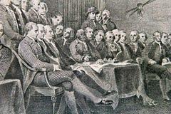 Delegiertenversammlung stockbild