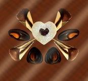 Deleites, cookie e confeitos doces Imagens de Stock