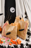 Deleites de Halloween Fotografia de Stock