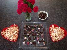 Deleites do Special do dia de Valentim Imagem de Stock