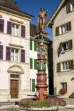 Delemont (Switzerland) - Fountain Royalty Free Stock Image