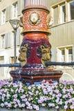 Delemont (Switzerland) - Fountain Royalty Free Stock Images