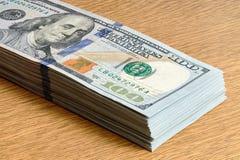 Delen av den eniga statliga dollaren buntar nära övre för 2009 serie Royaltyfri Bild
