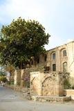 Delen av den Grans moskén Djami Kebir, som det kallas i Larnaca, Cypern arkivbilder