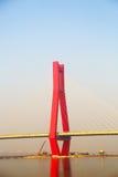 Delen av kabelbron Royaltyfria Bilder