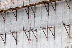 Delen van de bouw van steigers Stock Foto