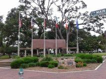 Deleon Plaza, Victoria, Texas stock image
