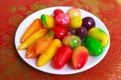 Deletable плодоовощи имитации. Стоковое Изображение RF