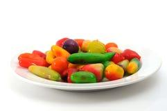 Deletable imitation fruits Royalty Free Stock Photos