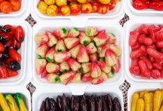 Deletable imitation fruits Royalty Free Stock Photography