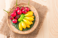 Deletable imitation fruits (Look Choup) Royalty Free Stock Images