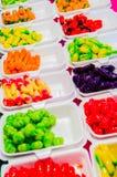 Deletable imitation fruits Stock Photography