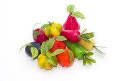 Deletable imitation fruits ,Thai dessert Royalty Free Stock Image