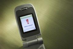 delete контакта мобильного телефона Стоковое фото RF