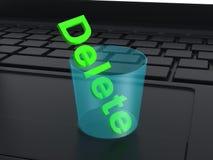 Delete Stock Image