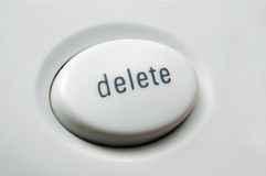 delete Стоковое фото RF