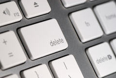 Delete button on the Keyboard Stock Photo