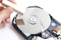 Delete disk Royalty Free Stock Photo