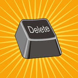 Delete Key Stock Photography