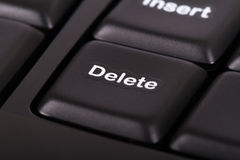 Delete Key Royalty Free Stock Image