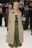 delevigne mody makowy przedstawienie Zdjęcia Stock